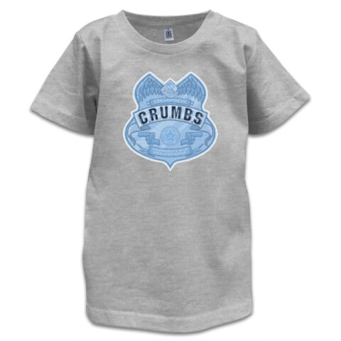 C.R.U.M.B.S Badge - Kids Shirt - Mukpuddy